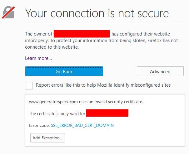 Set up SSL for free