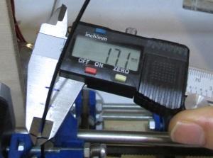 filament measurements