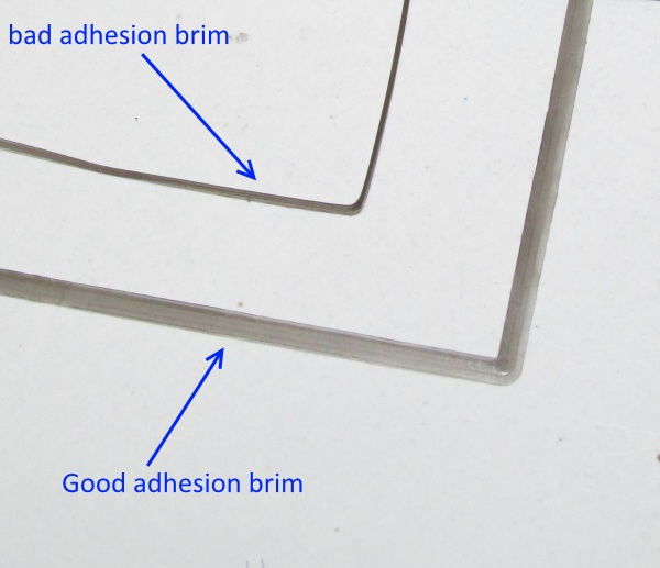 good and bad adhesion example