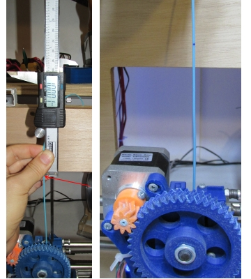 measure filament