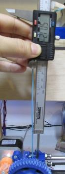 measure remaining filament