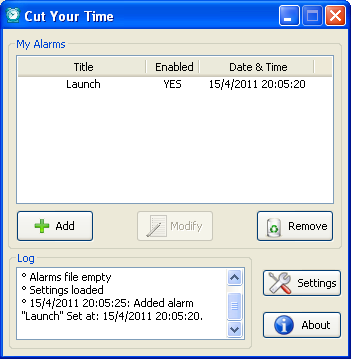 Windows10up.com Download Free About : Cut your time is a freeware cross platform application for