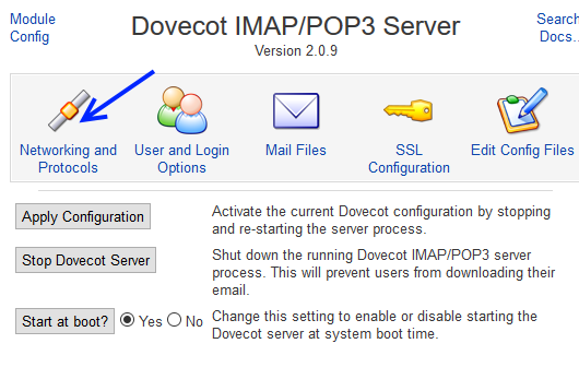 Install and Configure an Email server using Postfix and Dovecot