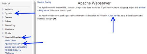 Apache setup and configuration